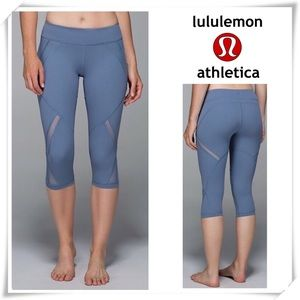 Lululemon Cool to Street Crop Leggings Blue